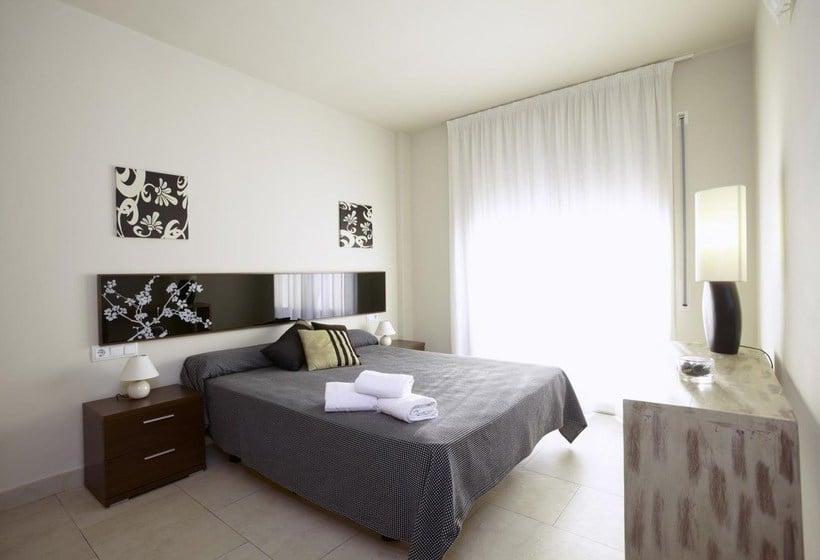 Habitación Apartamentos Ibersol Spa Aqquaria Salou