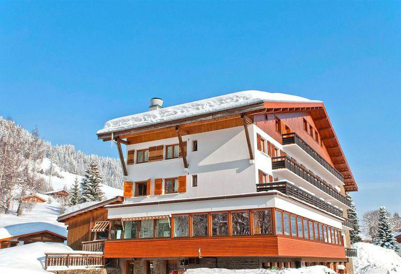 hotel residencia les chalets du prariand en megeve destinia