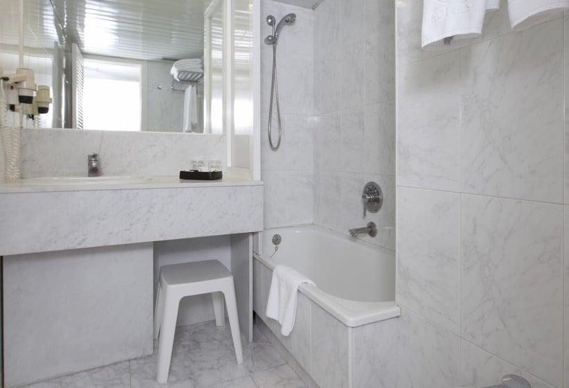 Cuarto de baño Apartamentos Torre Belroy Benidorm