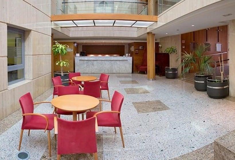 Zonas comunes Hotel Torreluz Senior Almería