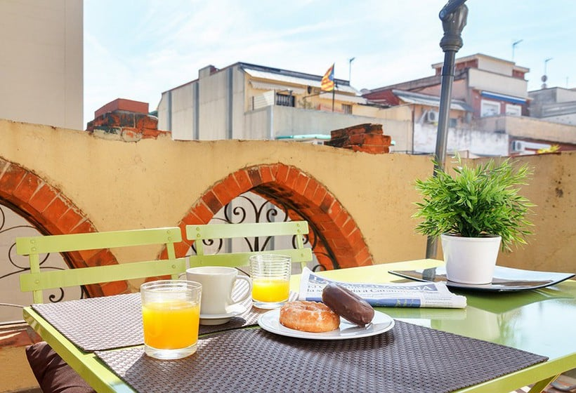 Terraza Feelathome Vila Apartment Barcelona