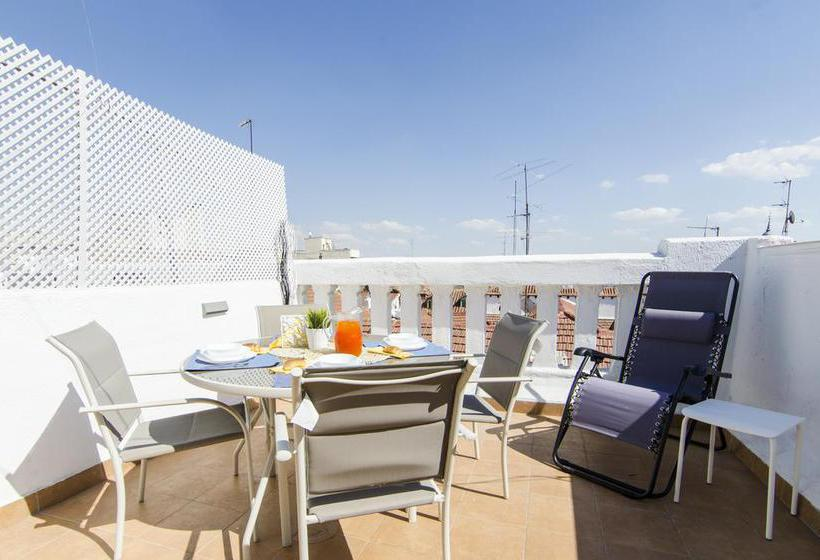 Apartments Dreammadrid Atocha Terraza Madrid
